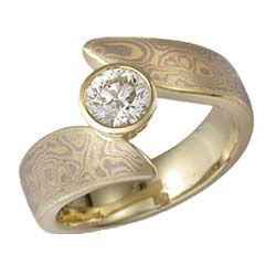 Art Nouveau Engagement Rings