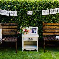 Outdoor wedding decorations for a vintage wedding ideas
