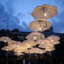10 Unique Outdoor Wedding Lighting Ideas