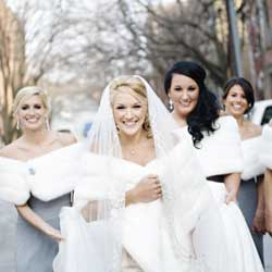 Winter Bridesmaid Dresses