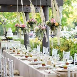 Unique Outdoor Engagement Party Decoration Ideas