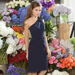Midnight Blue Bridesmaid Dresses