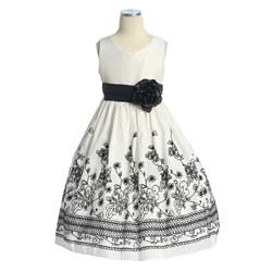 Cheap  Black Dress on Cheap Black And White Flower Girl Dresses     10 Online Retailers