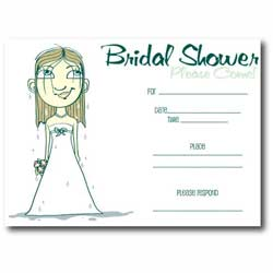 Bridal Shower Invitation Etiquette