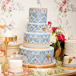 Victorian Wedding Cakes