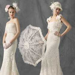 10 Most Unique Vintage Lace Wedding Gowns For Sale Online ...