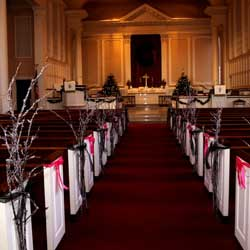 Wedding Pew Decoration Ideas