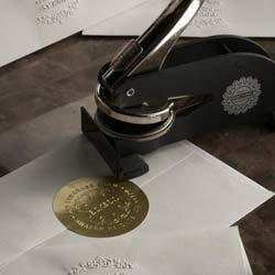 Letterpress Personalized Stationery