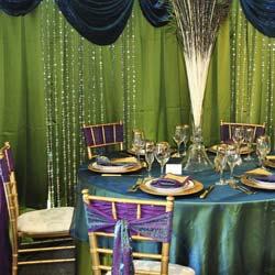Peacock Wedding Decorations Ideas