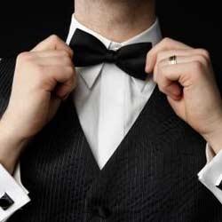 Black Tie Optional Wedding