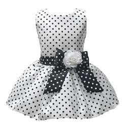 Polka Dot Flower Girl Dresses